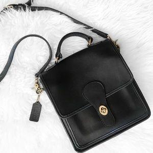 Authentic Vintage Coach Black Station Bag no. 5130